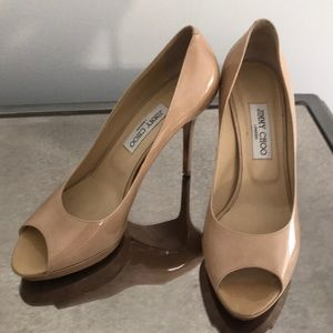jimmy Choo Patton Leather pumps